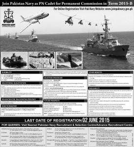 ... For online registration visit pak navy website: www.joinpaknavy.gov.pk