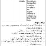 Drug Abuse Counselor Required at Ministry of Narcotics Control