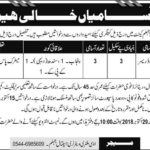 Jobs for Veterinary Dresser in Military Veterinary Hospital Jhelum