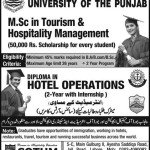 Diploma in Hotel Operations Admission COTHM Lahore 2015