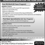 Saida Waheed FMH College of Nursing BScN Admission 2016