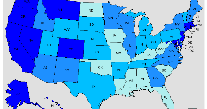 Top Highest Paying States for Vascular Technologists - StudyPK