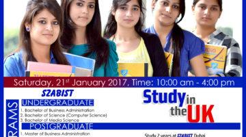 SZABIST Dubai Campus Undergraduate & Postgraduate Admissions 2017