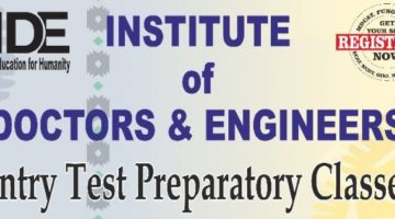 Institute of Doctors & Engineers (IDE) Lahore