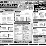 Comsats CIIT Sahiwal Spring Admissions 2018