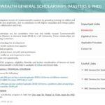 HEC Commonwealth General Masters & PhD Scholarships UK 2019