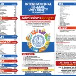 International Islamic University Spring Admissions 2019