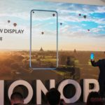 Teaser of Honor View 20 with 48 Megapixel In-Screen Camera