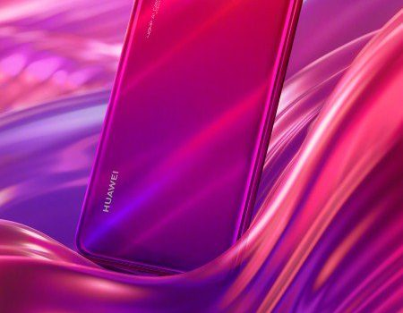 Huawei Nova 4 Red & Purple Gradient Colour Option Teaser Leaked