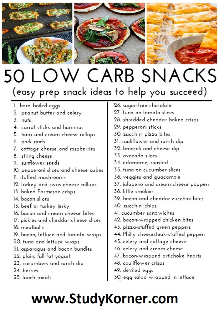 50 Low Carb (Keto) Snacks Ideas to Keep You Full and Energized