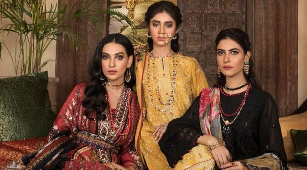 Saapphire Clothing Eid Edition Collection Design 2019