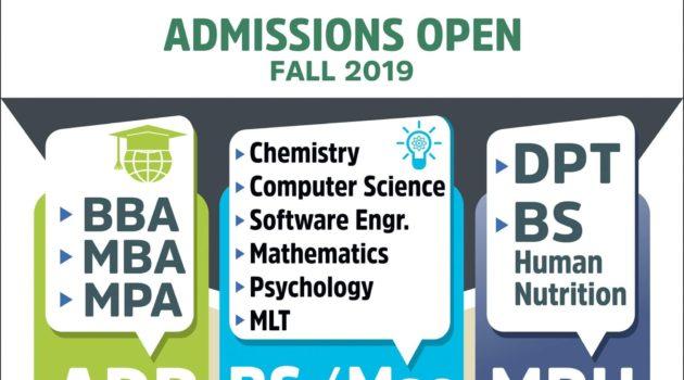 TIMES Institute Multan DPT Admission Open Fall 2019