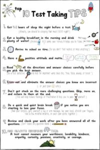 10 Test Taking Tips For Elementary Students