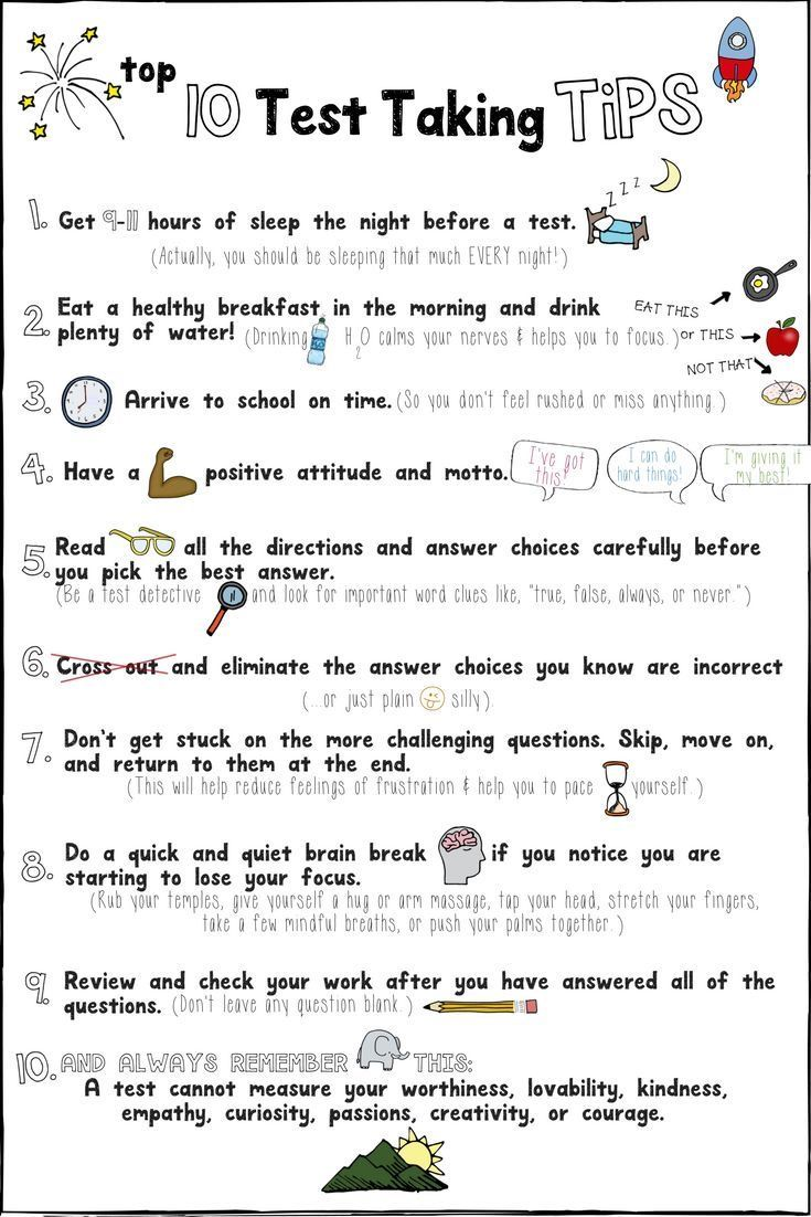 10 Test Taking Tips For Elementary Students - StudyPK