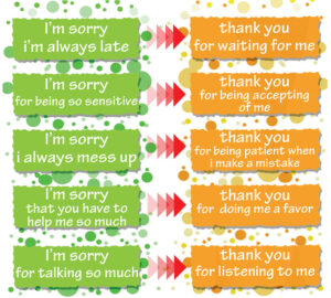 Ways To Stop Saying Sorry Too Much Stop Apologizing for Everything