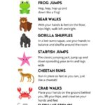 Kid Friendly Workouts for Kids